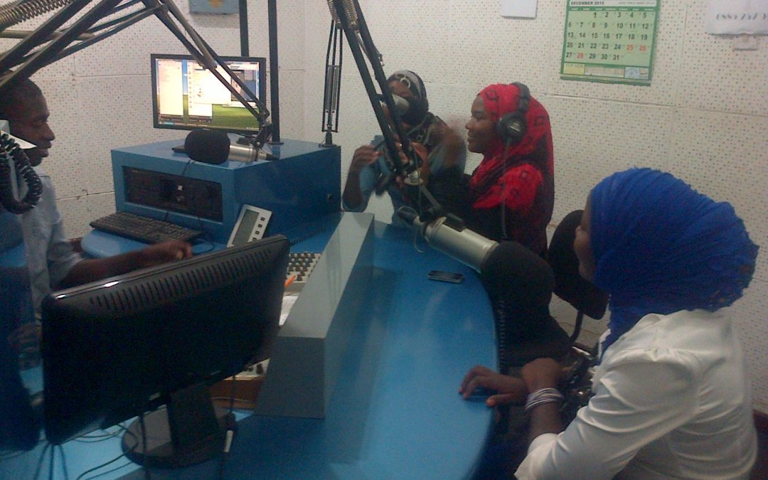 Radio Program at Ufulu Radio Station