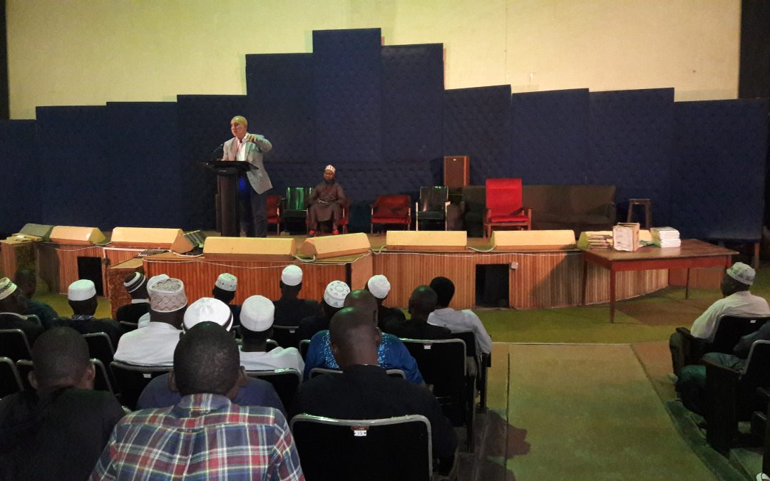IIB Engages Men On The Talk Of Zakaat.