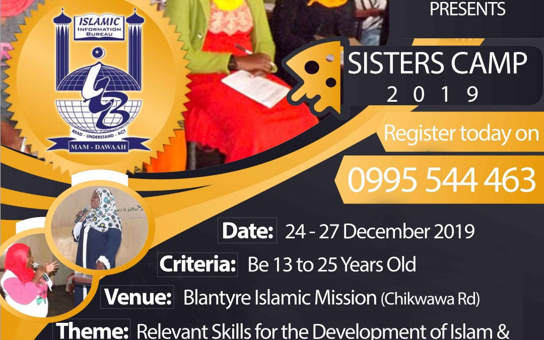 IIB to Host Sisters Camp