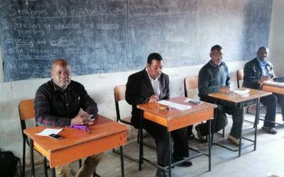 Lilongwe IIB Had a Meeting with Headteachers