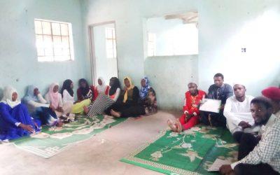 IIB Visits Al- answar Youth Club